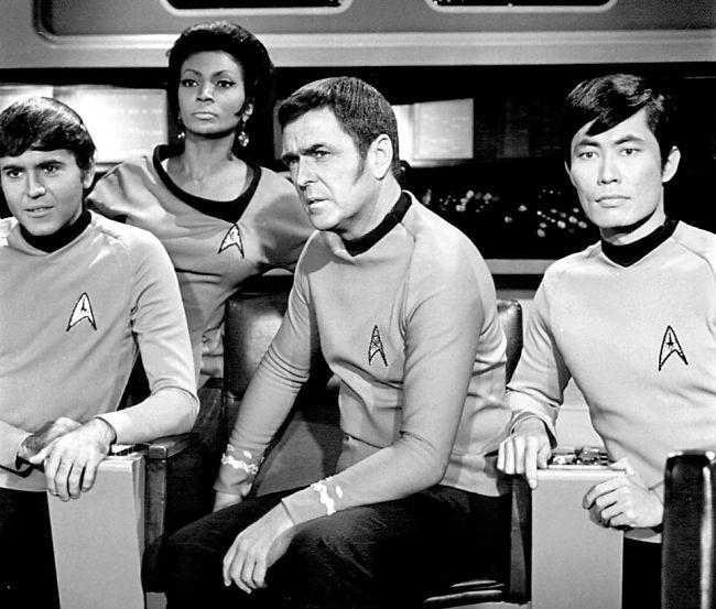 De oorspronkelijke cast van Star Trek - Foto: Wikipedia c.c.