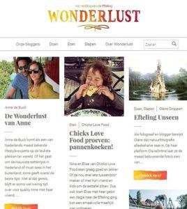 Wonderlust, het reisblog van de Efteling