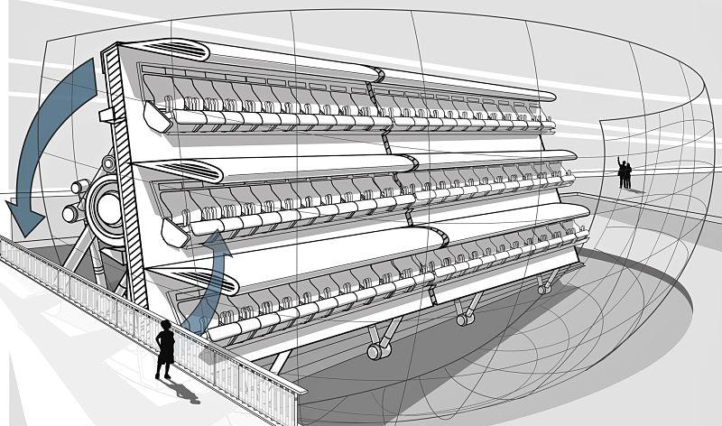 L'Extraordinaire Voyage, het Flying Theater van Futuroscope