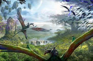 Soaring Banshees in Avatar: Flight of Passage in Disney's Animal Kingdom - Foto: © Disney