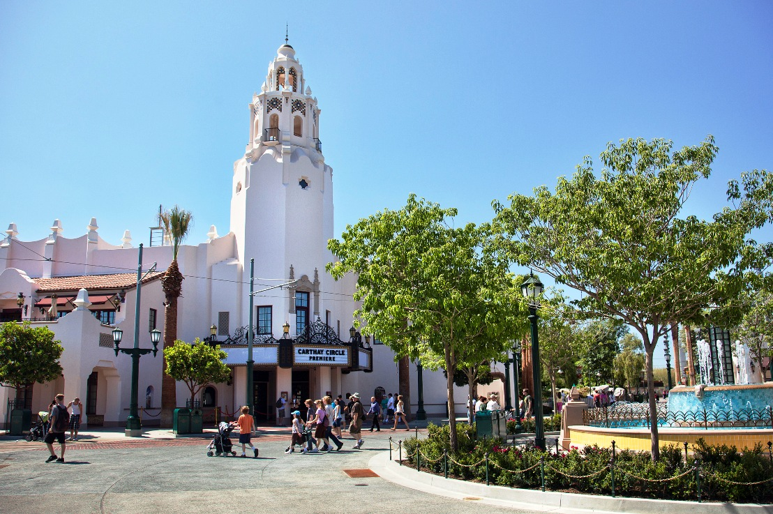 Carthay Circle Theatre in Disney California Adventure - Foto: © Disney / Paul Hiffmeyer