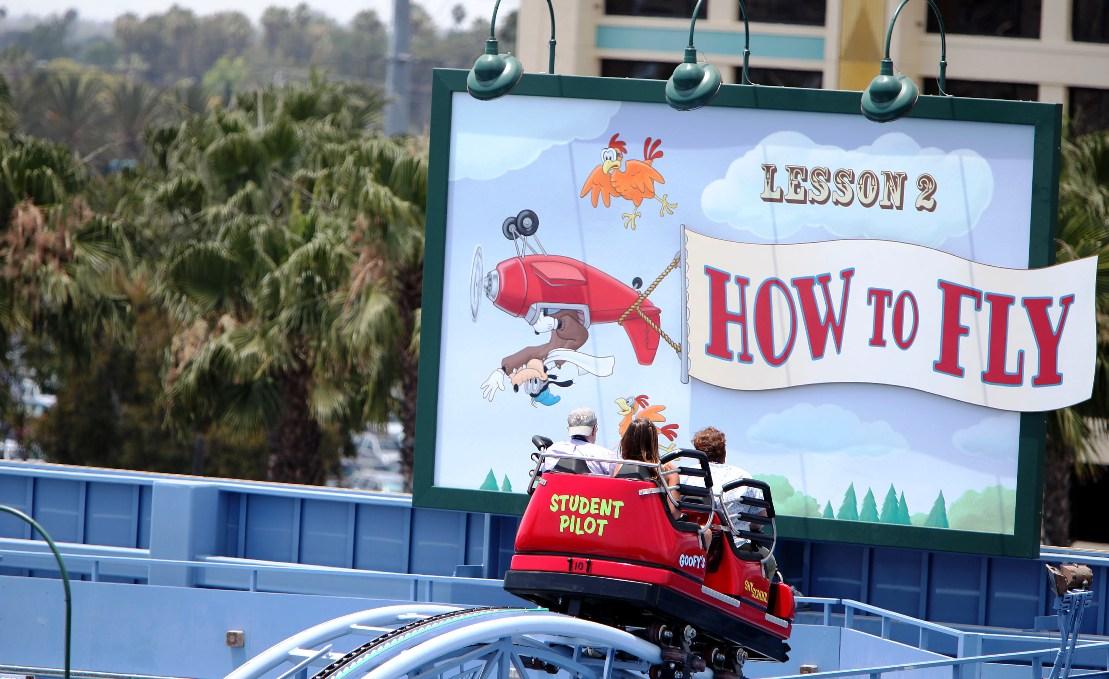 Goofy's Sky School in Disney California Adventure - Foto: © Disney