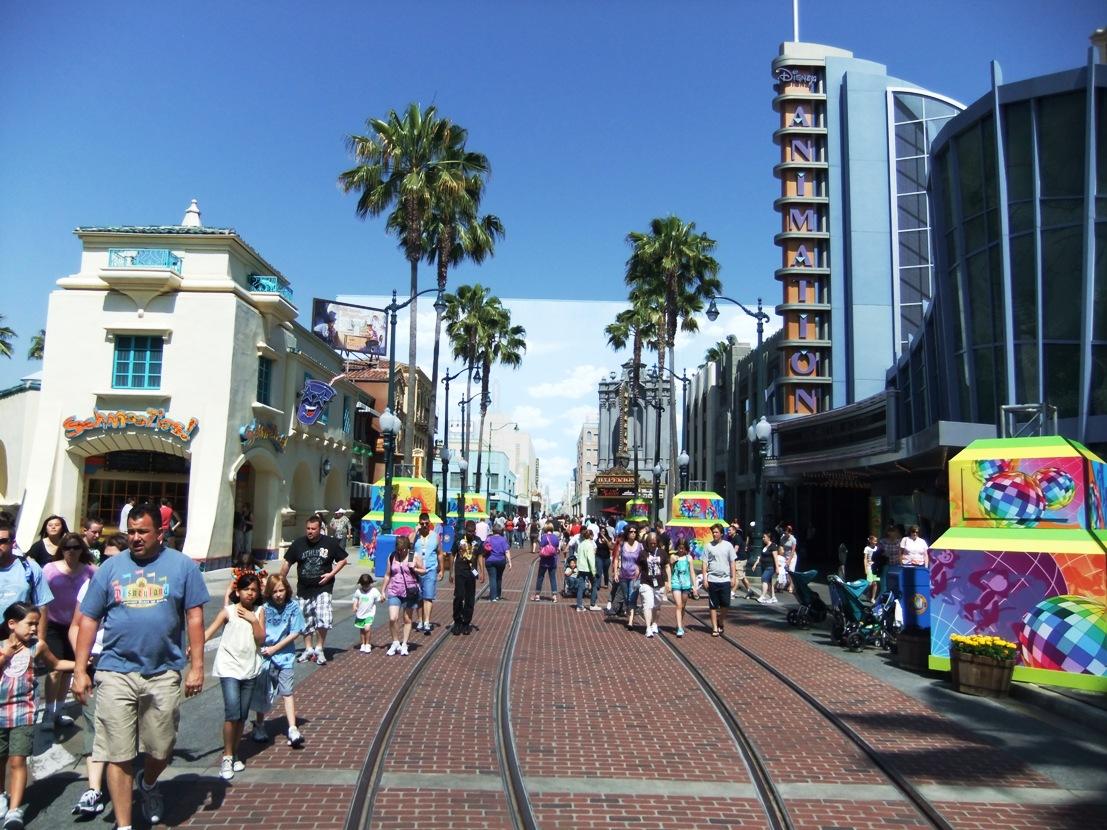 Hollywood Boulevard in Disney California Adventure - Foto: © Adri van Esch