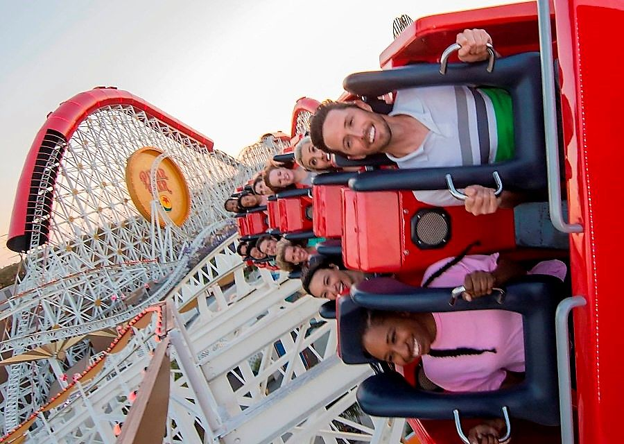 Incredicoaster in Disney's California Adventure - Foto: © Disney
