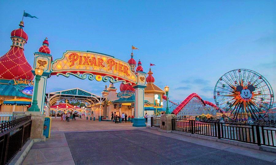 Pixar Pier in Disney California Adventure - Foto: © Joshua Sudock / Disneyland