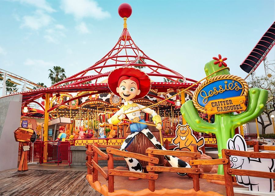 Jessie's Critter Carousel in Disney California Adventure - Foto: © Disney