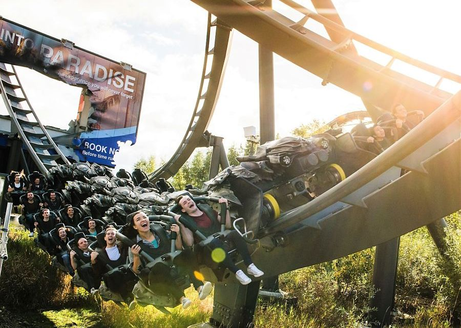The Swarm in Thorpe Park