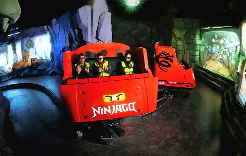 Ninjago The Ride in Legoland Billund