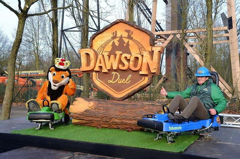 Dawson Duel in Bellewaerde