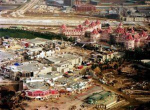 De bouw van Euro Disneyland - Foto: © Disney