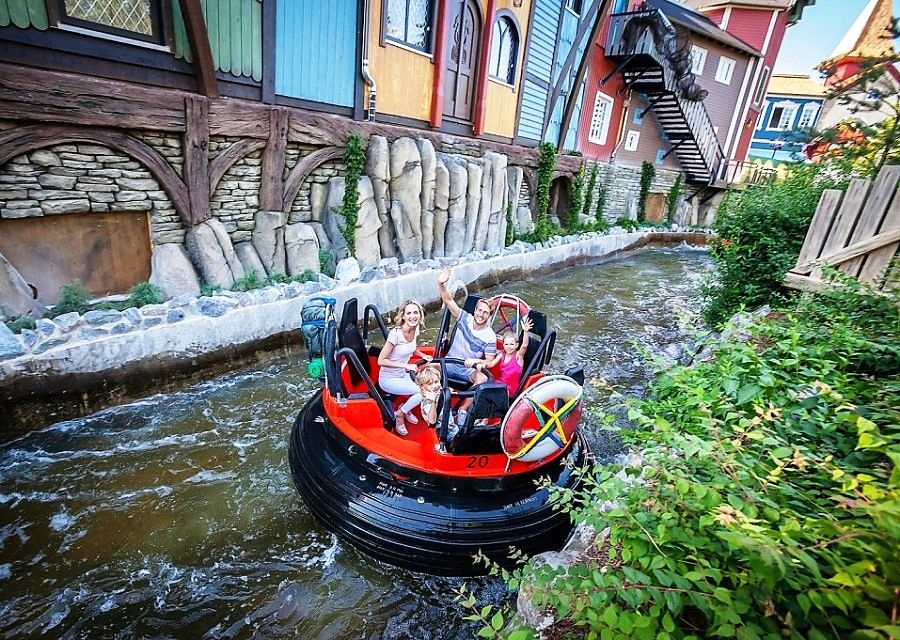 Fjord Rafting in Europa-Park