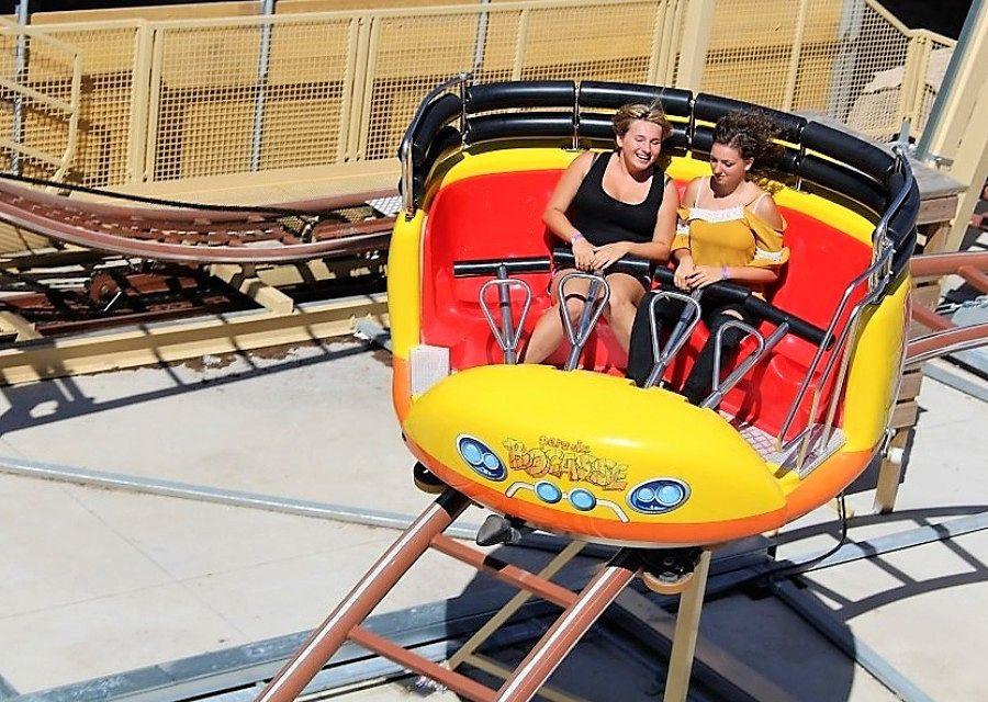 Jurrasic Coaster in Parc du Bocasse