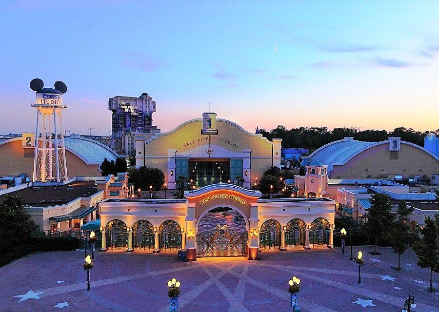 De ingang van Walt Disney Studios Park - Foto: © Disney