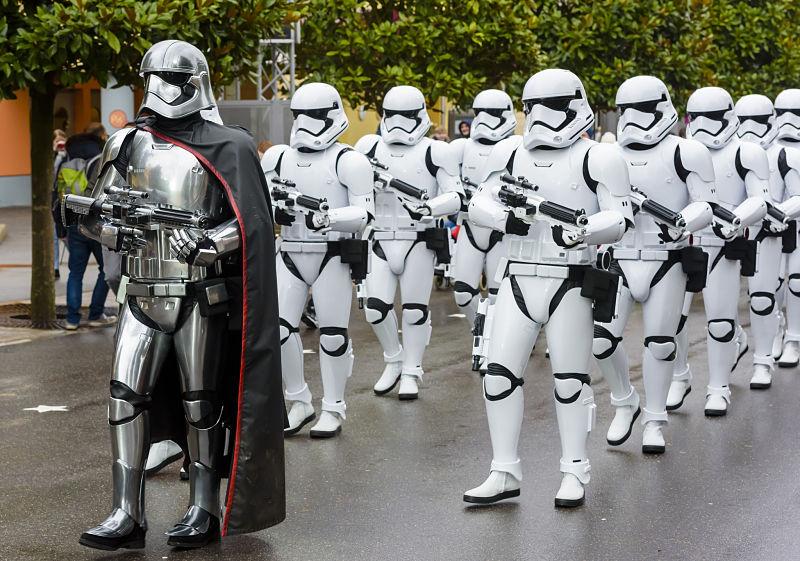 Star Wars in Walt Disney Studios - Foto: © Disney