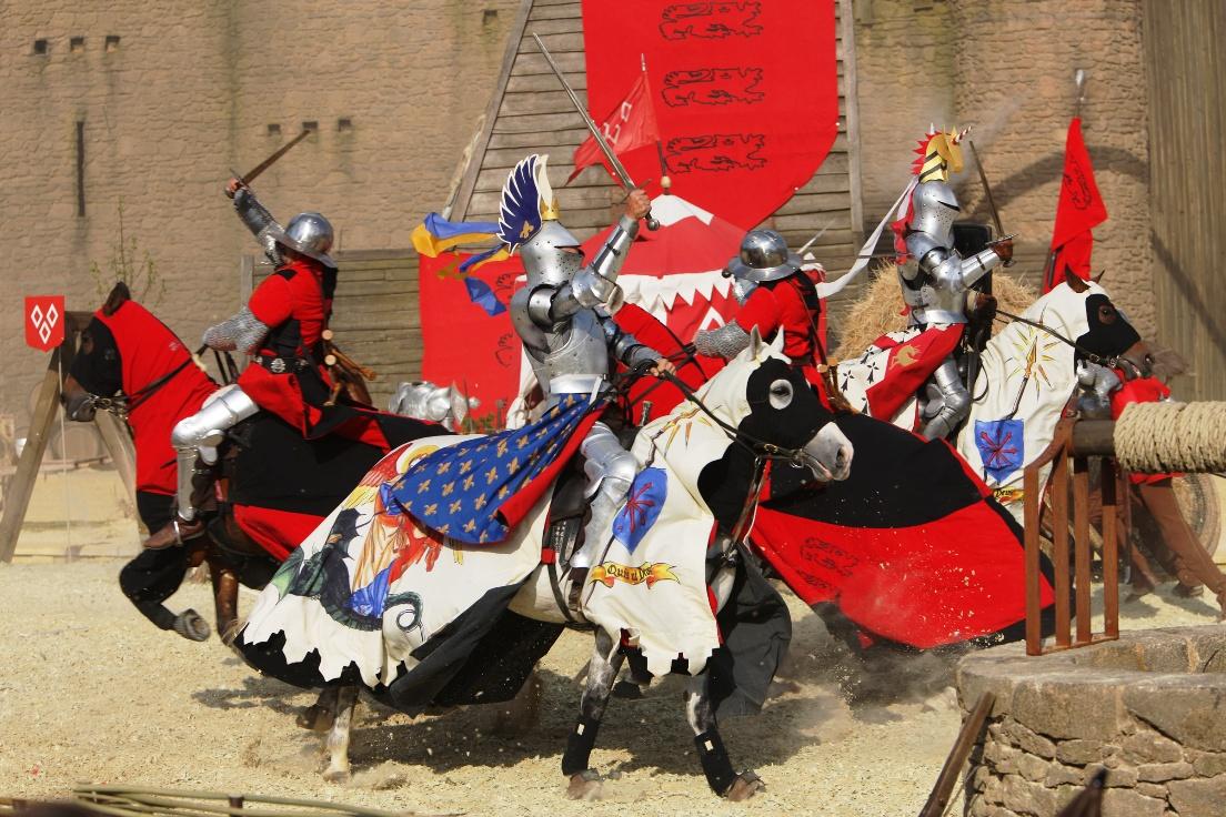 Historische voorstelling in Puy du Fou
