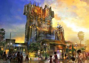 Guardians of the Galaxy in Disney's California Adventure - Artist impression: © Disney
