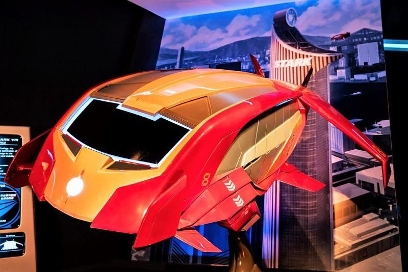 Vluchtsimulator Iron Wing in Hong Kong Disneyland - Artist impression: © Disney