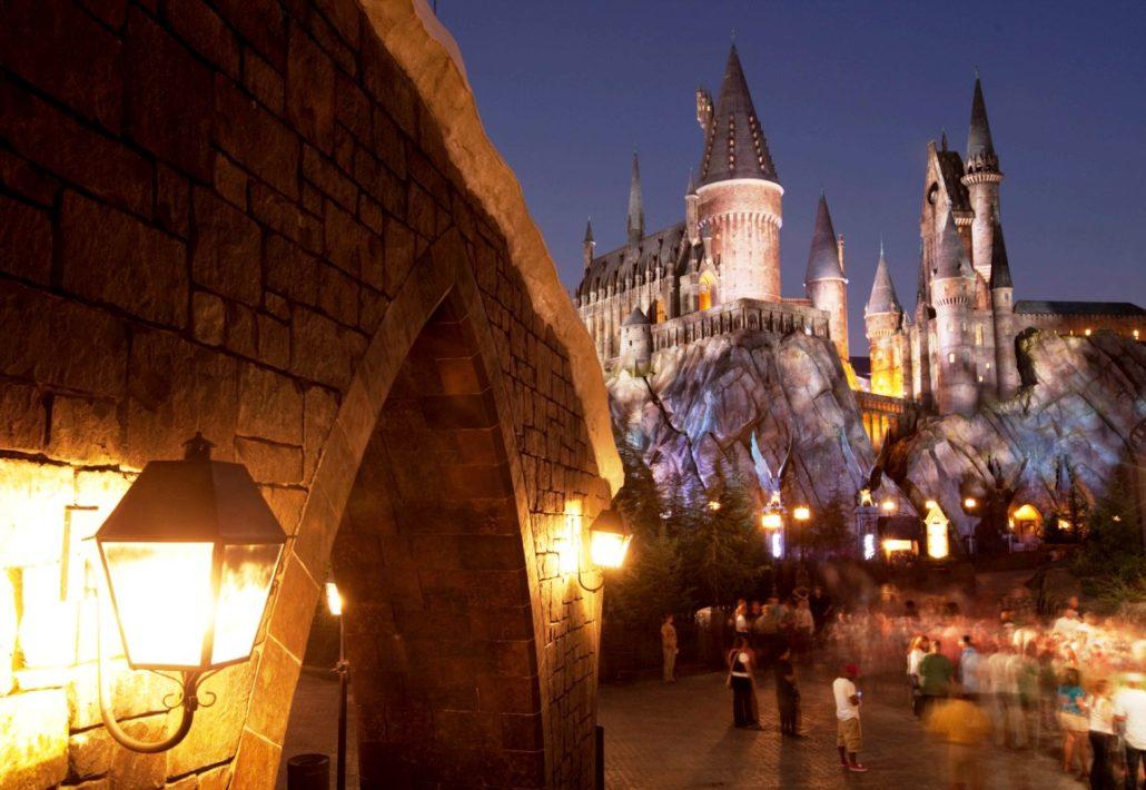 IOA Hogwarts nacht 15pers