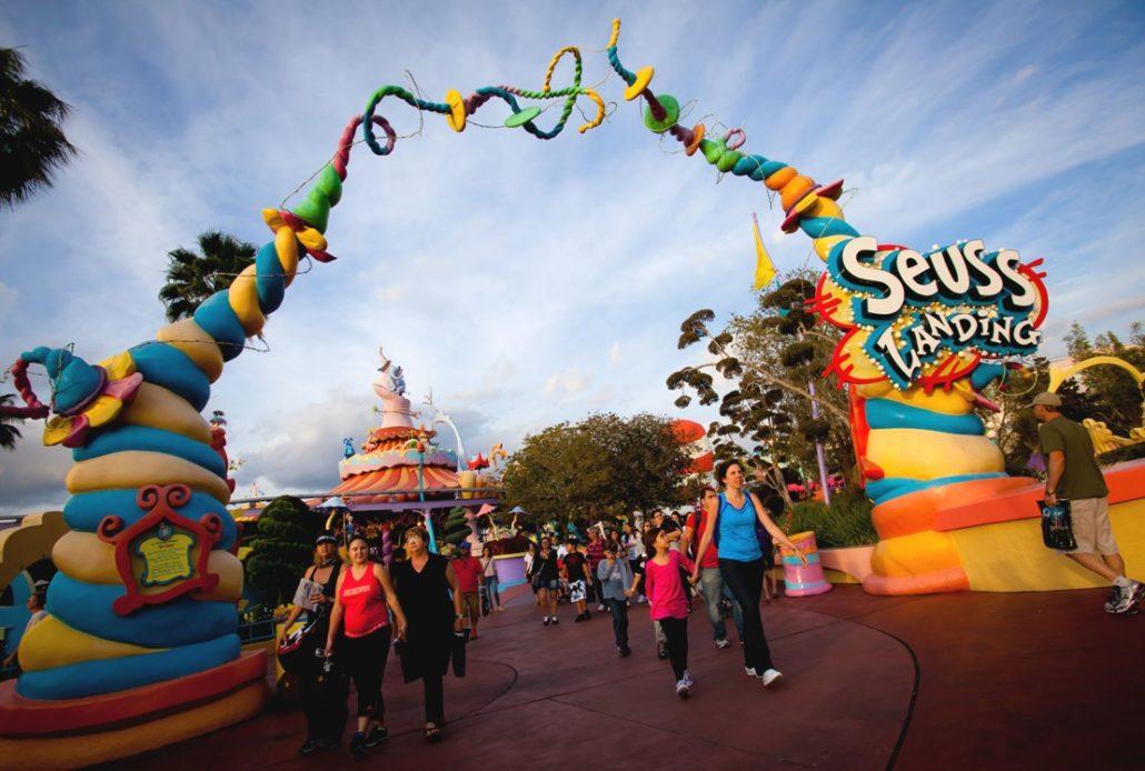 IOA Seuss Landing ingang 15pers