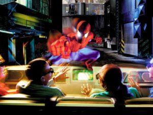 ioa spiderman 11pers