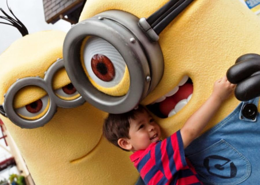 De Minions in Universal Studios Orlando