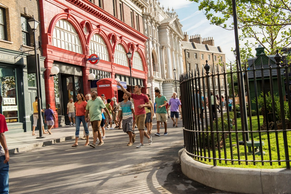 USF Diagon Alley Londen 15pers