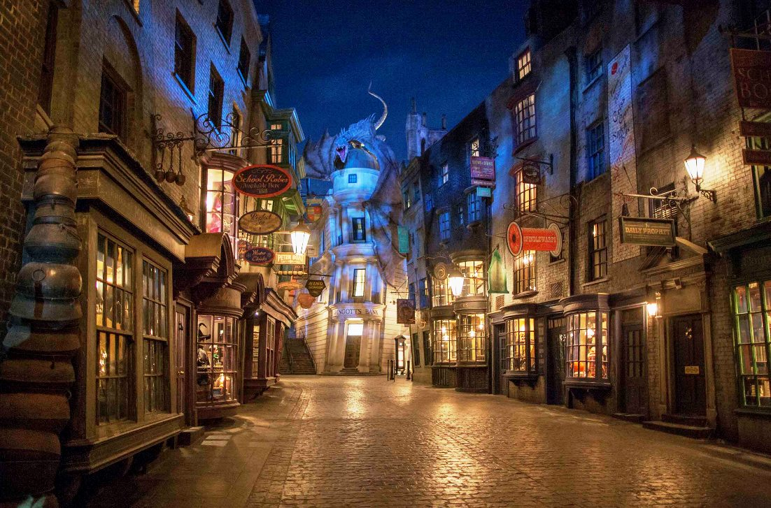 USF Diagon Alley avond 15pers