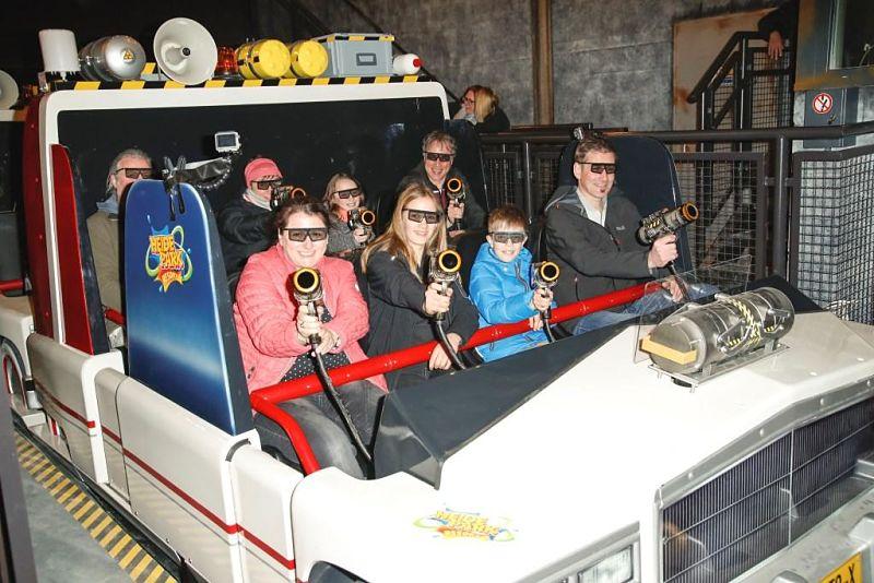 Ghostbusters 5D in Heide-Park