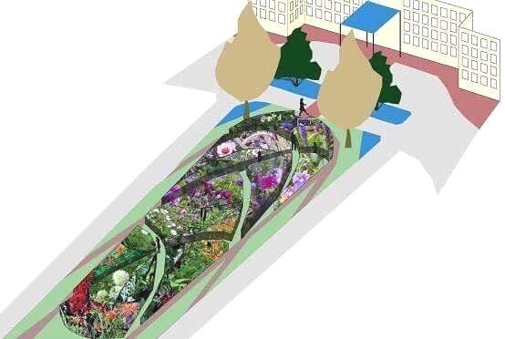De Hollandse tuin bij Newport Bay