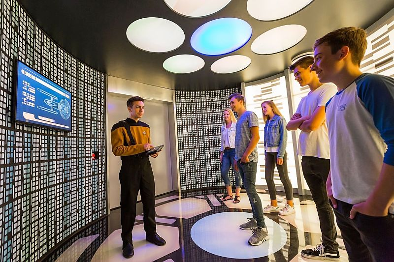 Transporter Room in Star Trek: Operation Enterprise in Movie Park Germany - Foto: © Movie Park Germany