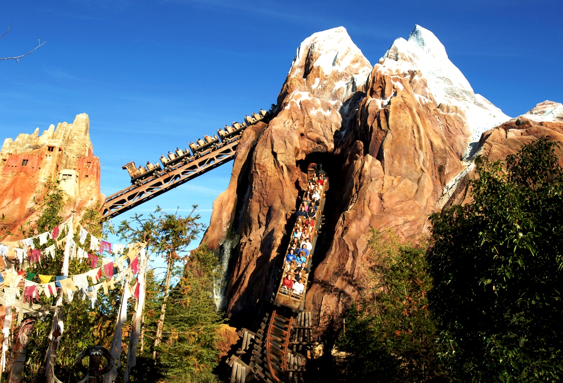 Expedition Everest in Animal Kingdom in Walt Disney World – Foto: © Disney