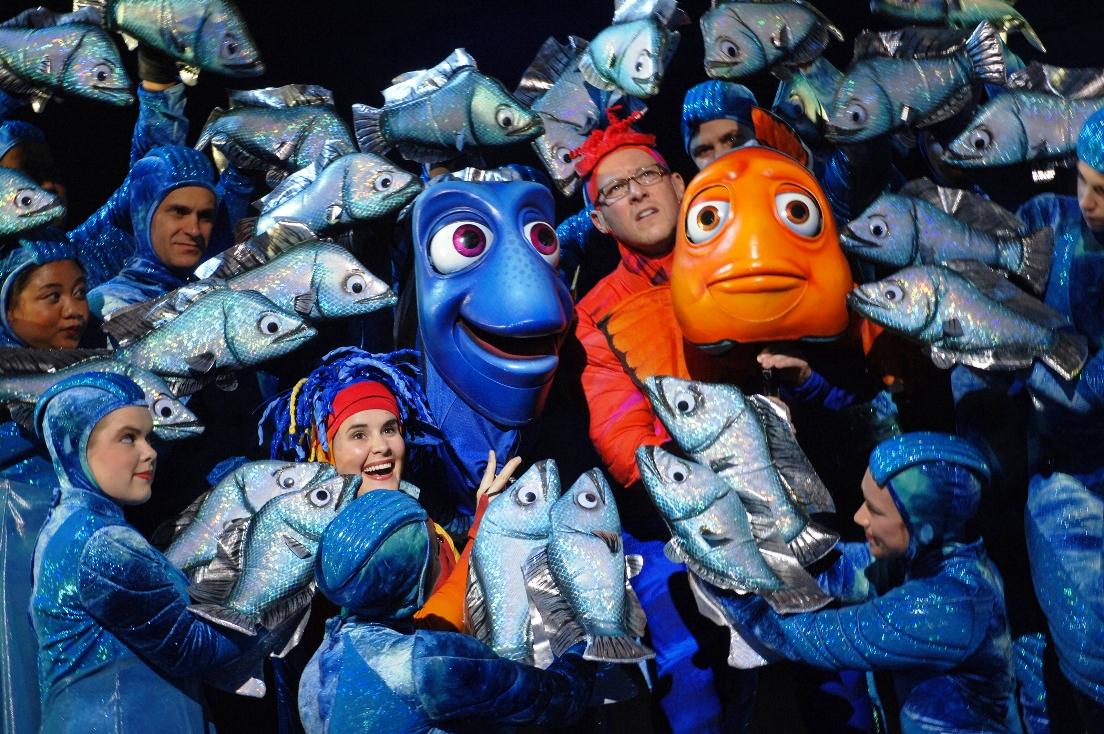 Finding Nemo the Musical in Animal Kingdom in Walt Disney World – Foto: © Disney / Gene Duncan