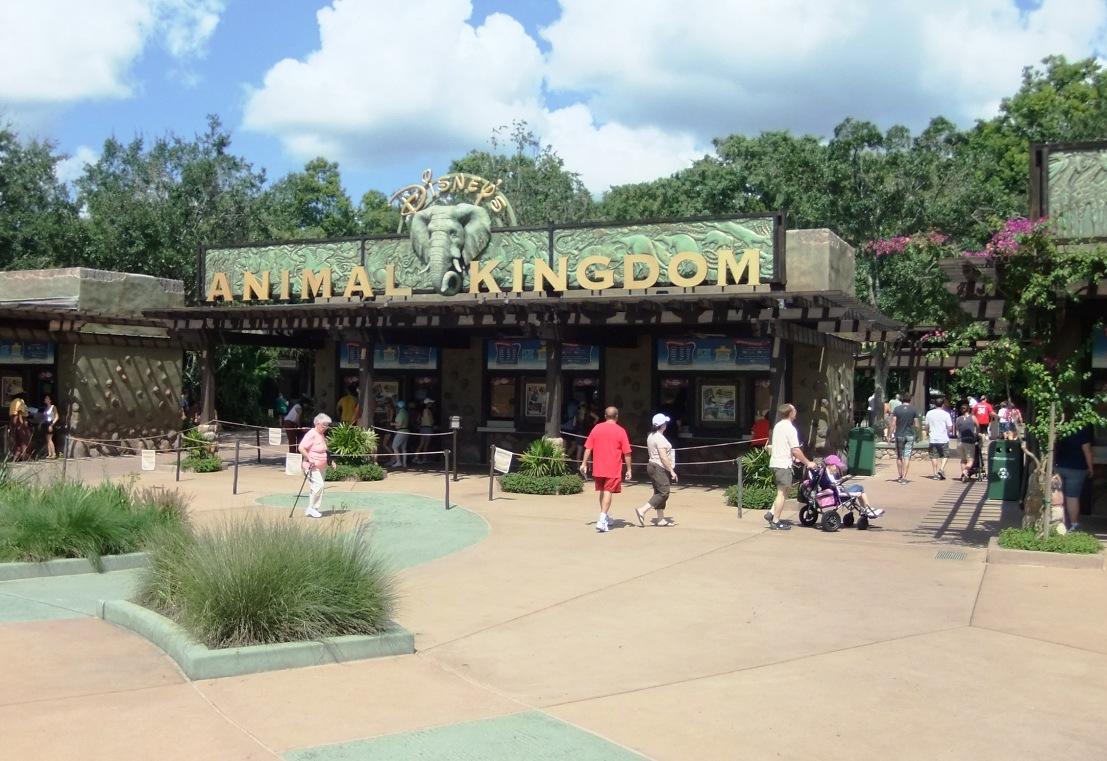 De ingang van Animal Kingdom in Walt Disney World – Foto: © Adri van Esch