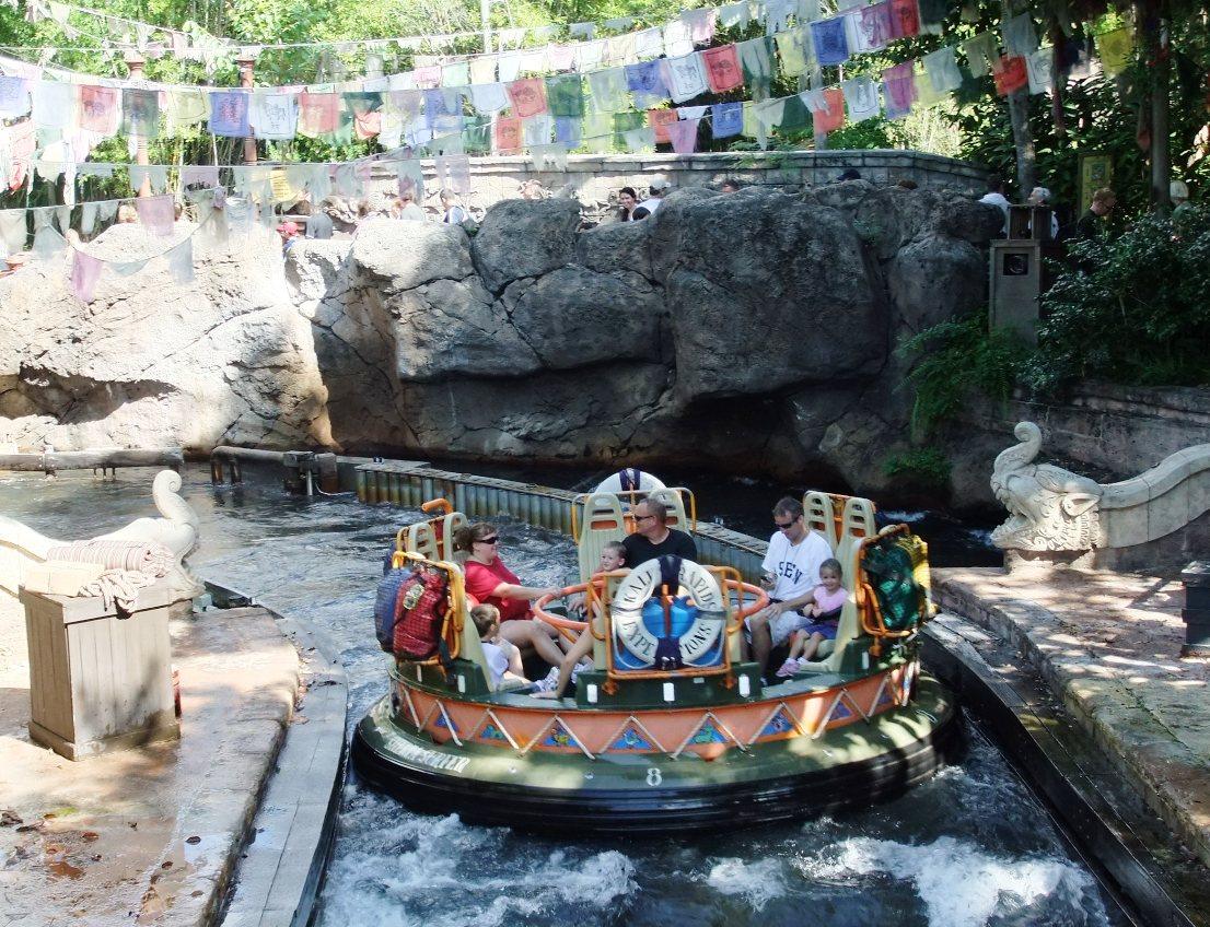 Kali Rapid River in Animal Kingdom in Walt Disney World – Foto: © Adri van Esch