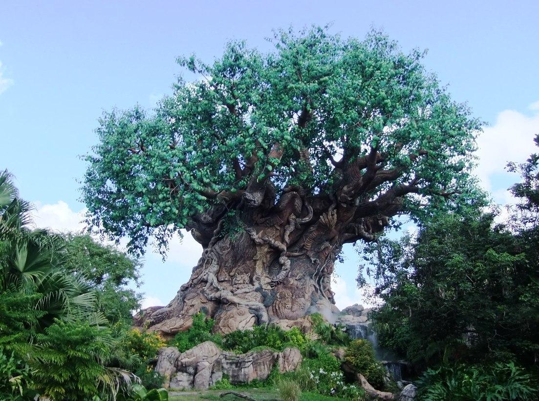 The Tree of Life in Animal Kingdom in Walt Disney World – Foto: © Adri van Esch
