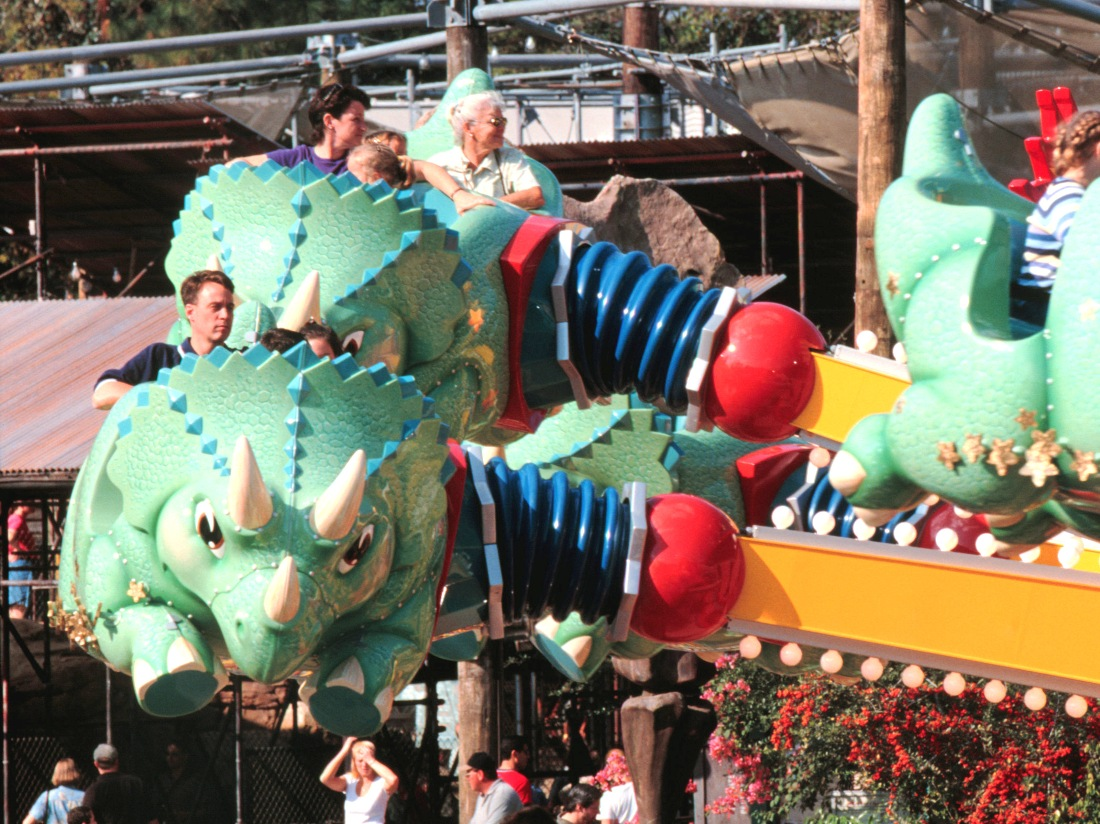 TriceraTop Spin in Disney's Animal Kingdom in Walt Disney World – Foto: © Disney