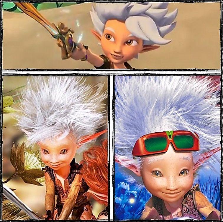 Arthur van de Minimoys in screenshot en affiches van Studio 100, Europa-Park en Futuroscope