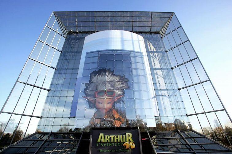 Arthur, l'Aventure 4D in Futuroscope - Foto: M. Vimenet