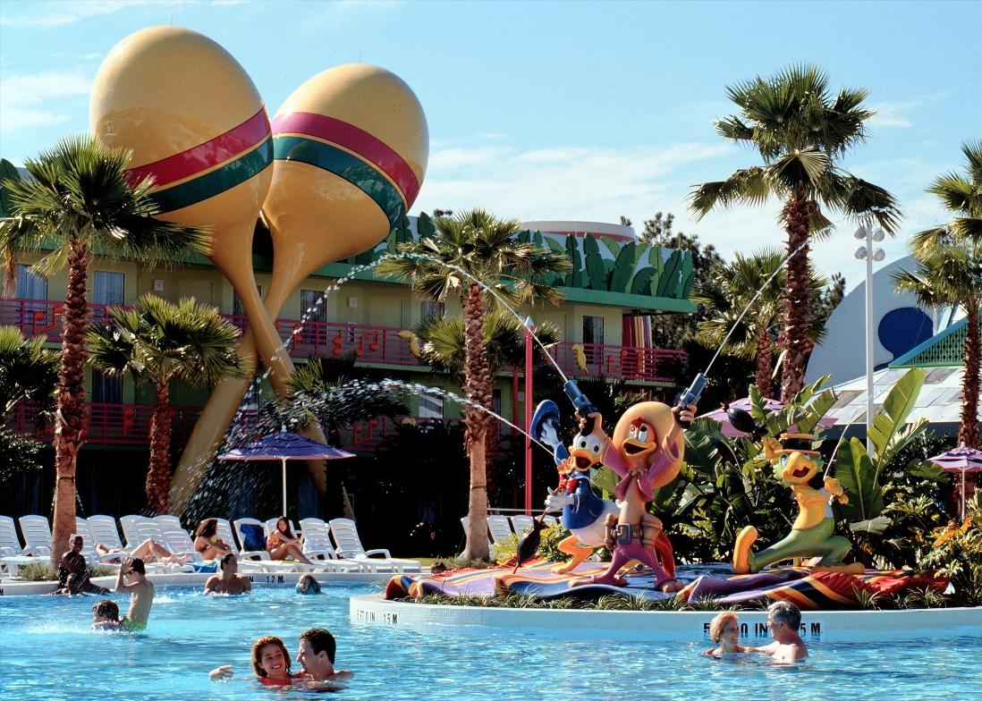 All Stars Music Resort in Walt Disney World – Foto: © Disney