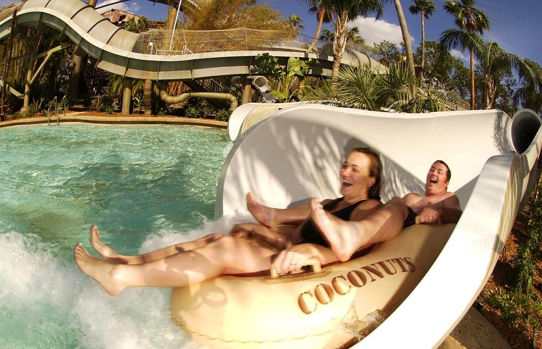 Crush 'n Gusher in Typhoon Lagoon in Walt Disney World – Foto: © Disney / Diana Zalucky
