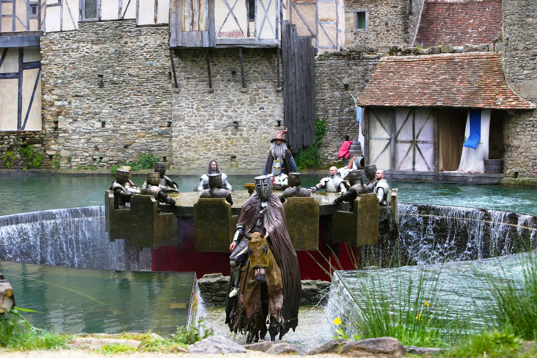 Voorstelling in Puy du Fou