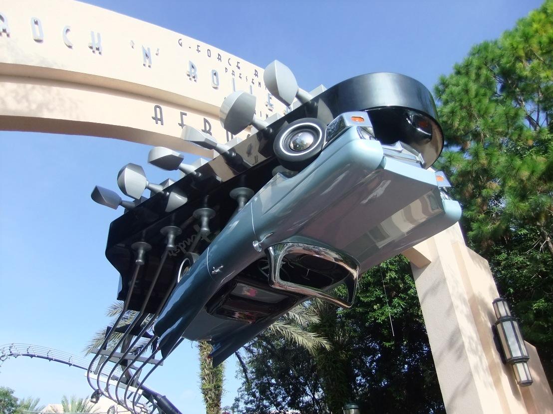 Rock 'n' Roller Coaster in Disney's Hollywood Studios - Foto: © Adri van Esch