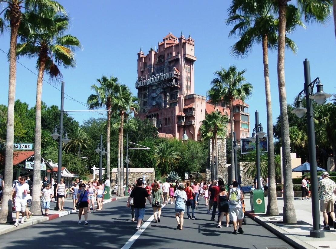 Tower of Terror Disney's Hollywood Studios - Foto: © Adri van Esch