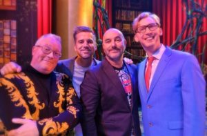 V.l.n.r. Robert-Jaap Jansen, Allard Blom, René Merkelbach en Mark van Haasteren - Foto: © Adri van Esch