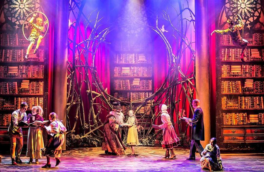 Sprookjessprokkelaar De Musical in de Efteling