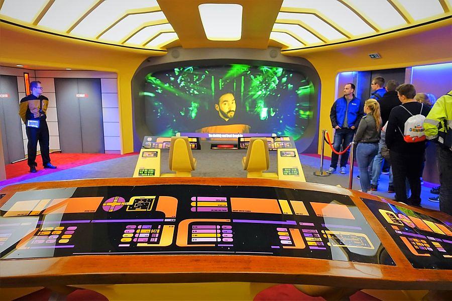 De brug van USS Enterprise in Movie Park Germany - Foto: © Adri van Esch
