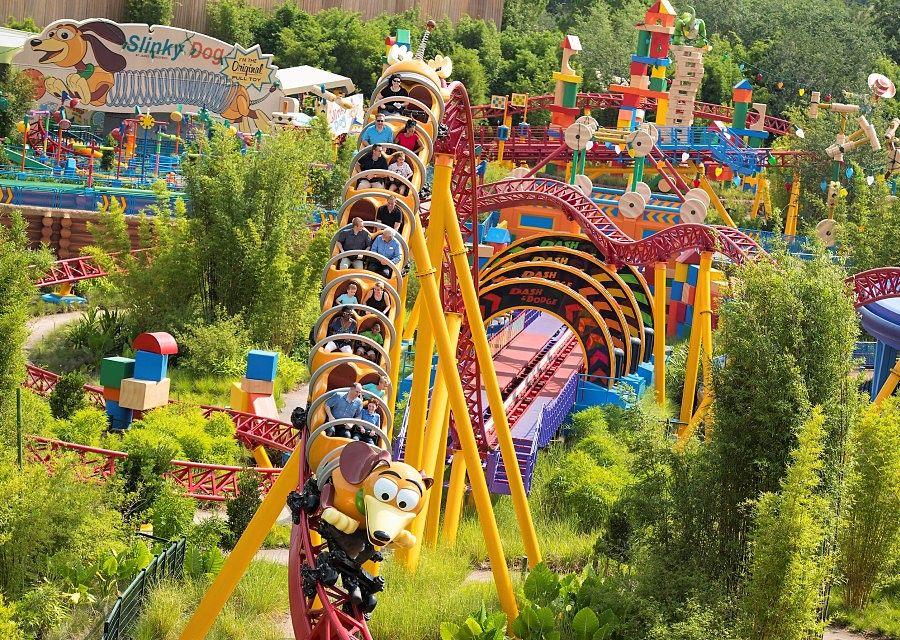 Slinky Dog Dash in Toy Story Land, Disney's Hollywood Studios - Foto: © Disney / David Roark