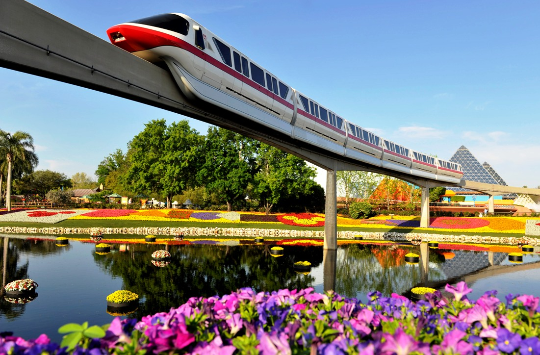 Epcot Monorail 15pers