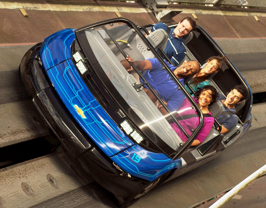 Epcot Test Track Foto Kent Phillips 15pers