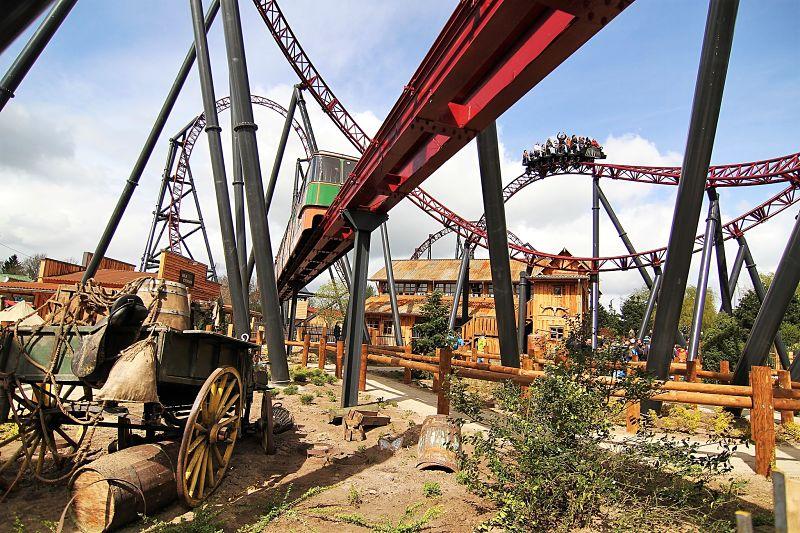 Gold Rush in Attractiepark Slagharen